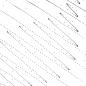 brokenWave black on white - dots arranged in sine waves