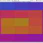 Screenshot of colorSpace 13: spiral of color.
