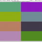 Screenshot of colorSpace 6: grid of color.